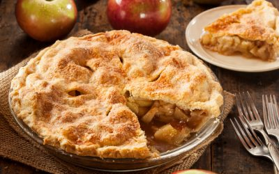 Winter Cottage Apple Pie