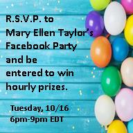 R.S.V.P.and be Entered for Hourly Prizes