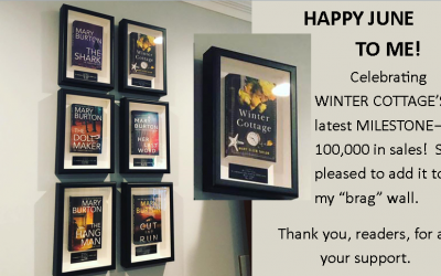Celebrating Winter Cottage as it Hits 100,000 copies sold!